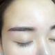 真的没有像同事纹的眉毛一样掉痂那么严重诶,就是很薄薄的一层感觉很棒~